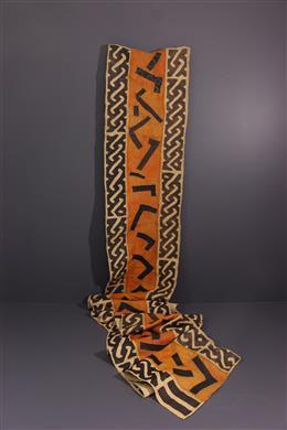 Art africain - Etoffe Nshak, Ncak Bushoong