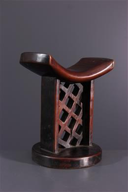 Appuie nuque Lozi - Art africain
