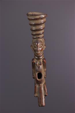 Art africain - Pipe cérémonielle Hemba