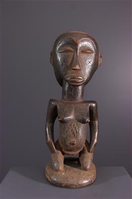 Art africain - Statuette Luba Mikisi mihake