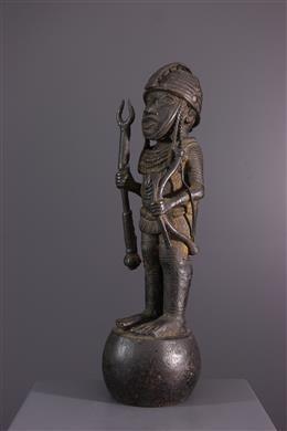 Art africain - Figure de dignitaire Bénin