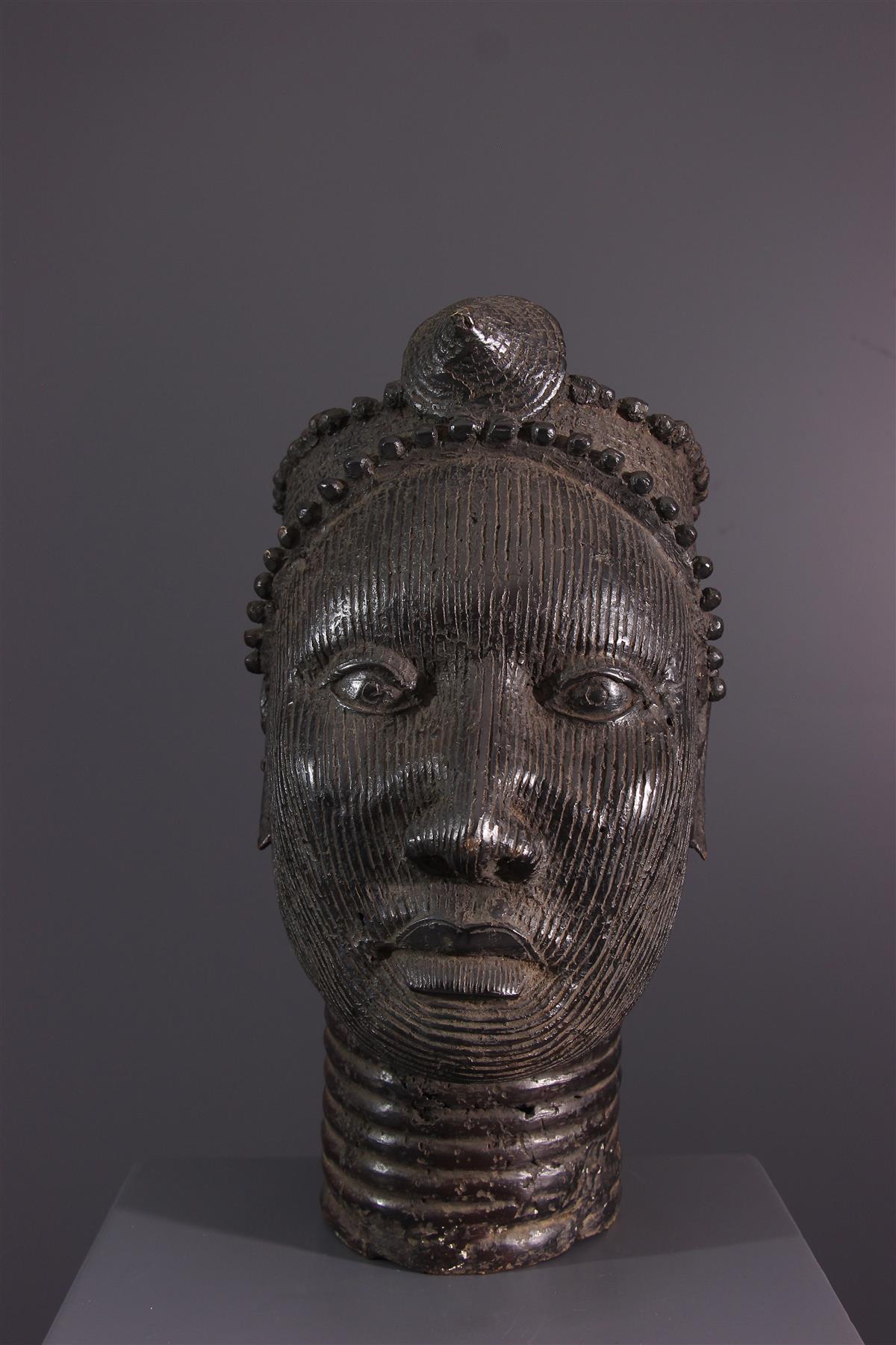 Tête Yoruba - Art africain