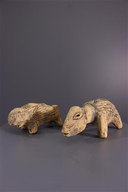 Art africain - Statues Lega Mugugundu