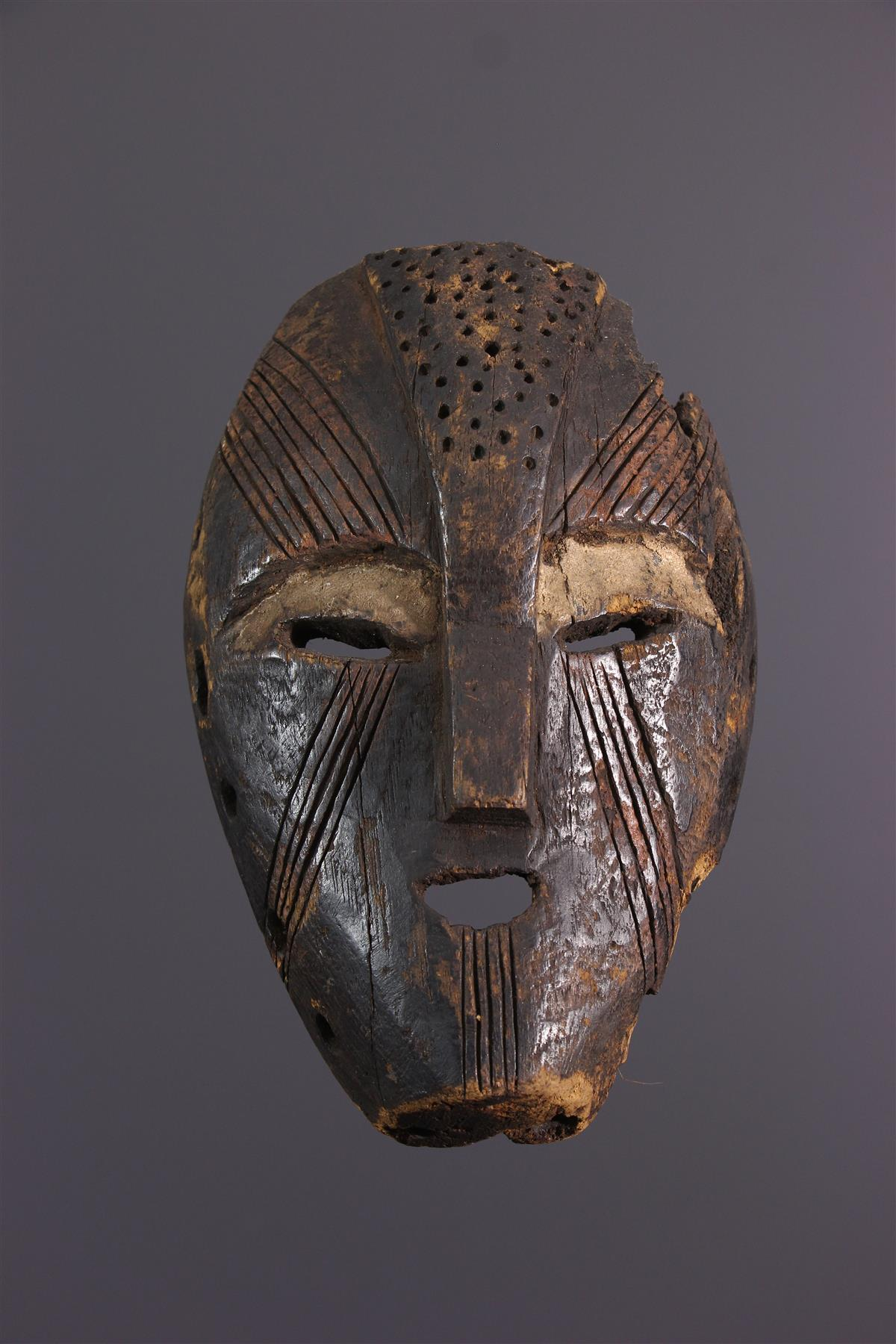 Masque Mbole - Art africain