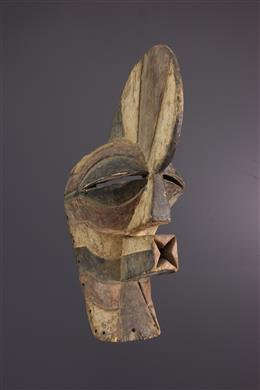 Art africain - Masque Songye Kifwebe Kilume