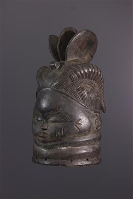 Art africain - Masque Mende Bundu / Sowei