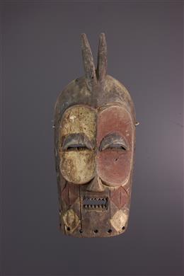 Art africain - Masque Bembe du Bwami