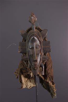 Art africain - Masque Senoufo Kpéllié, Kpeliyee
