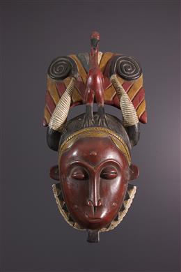 Masque Yohoure - Art africain