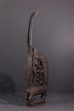 Art africain - Grand Ty wara, ci wara, vertical