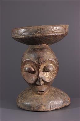 Art africain - Tabouret fétiche Bembe Kalunga