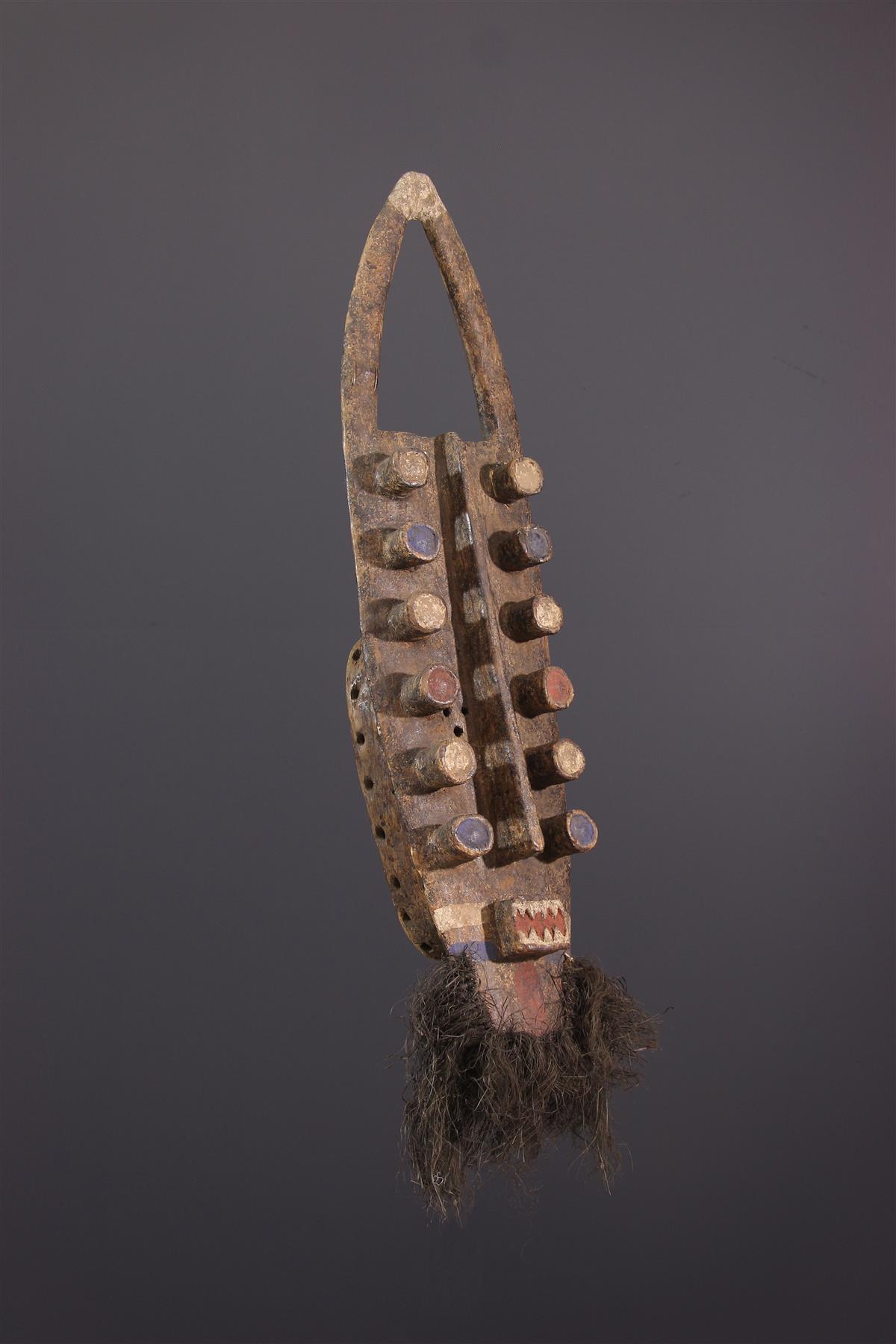 Masque Kru - Art africain