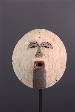 Art africain - Grand masque Luba Kifwebe