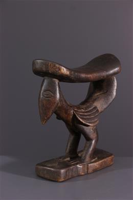 Art africain - Appui-nuque Yaka Musaw