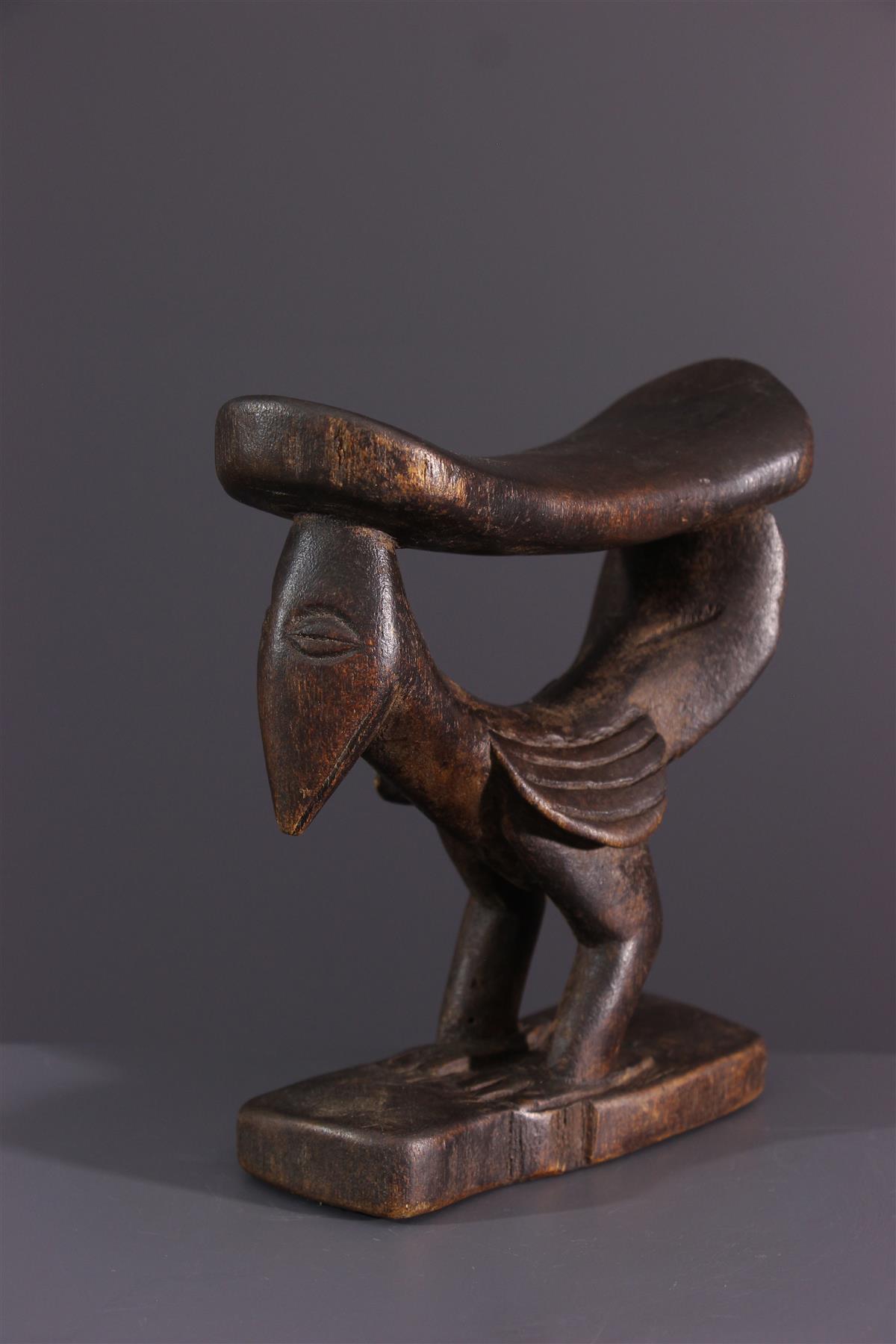 Appuie-nuque Yaka - Art africain