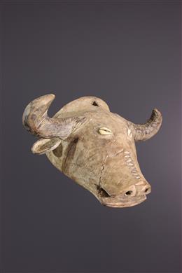 Art africain - Petit masque Buffle Tabwa