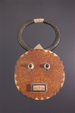 Art africain - Masque Kplé-kplé du Goli