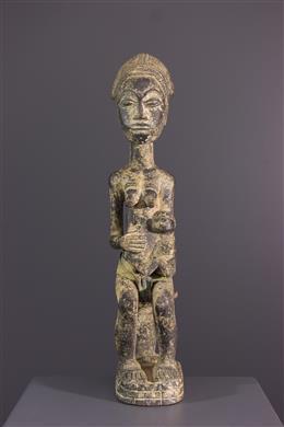 Art africain - Maternité Waka sona Baule