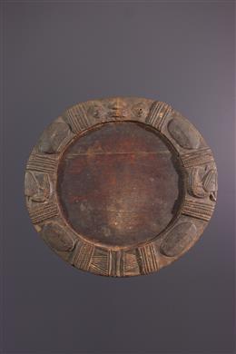 Art africain - Plateau de divination Opon Ifa Yoruba