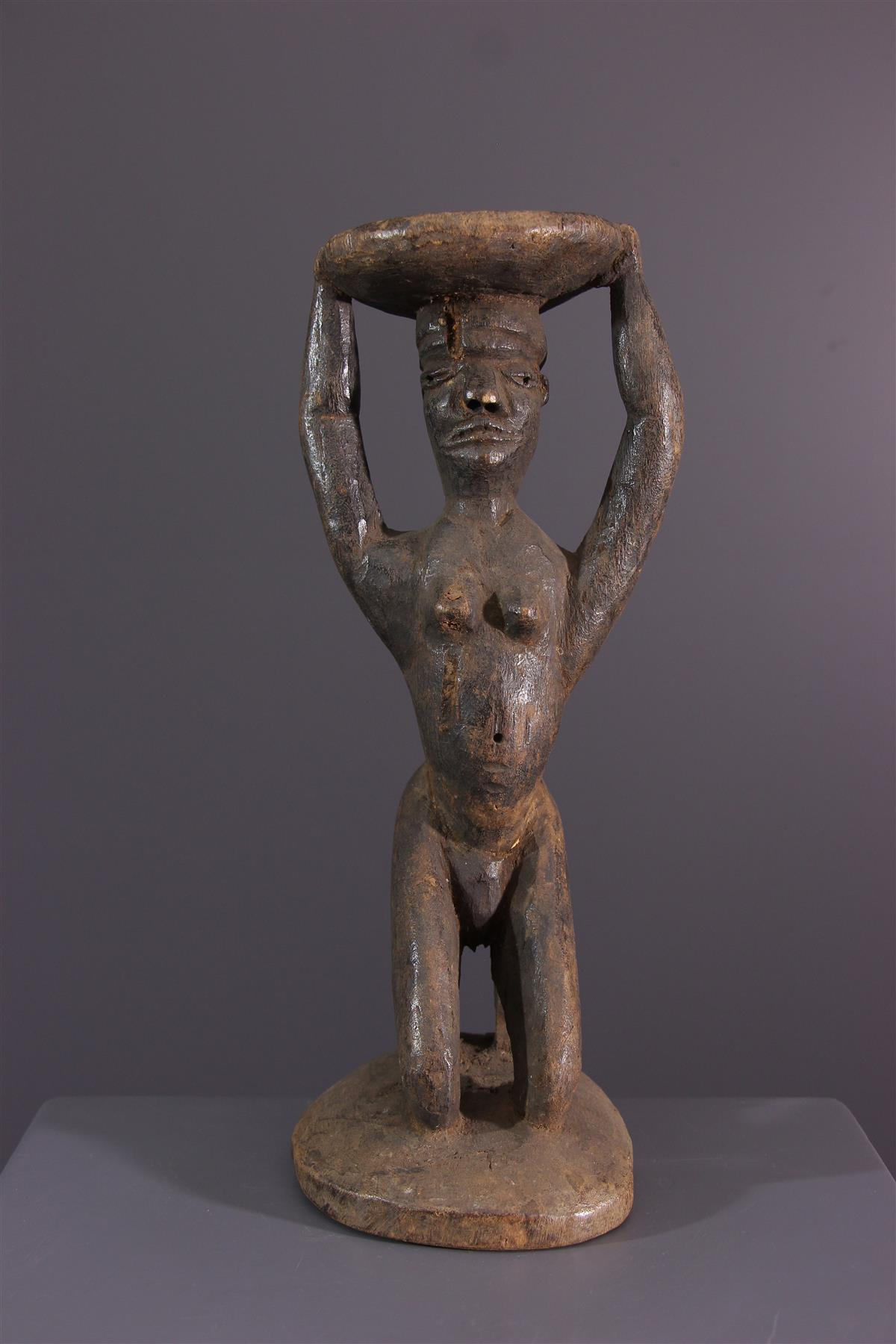 Tabouret Pende - Art africain
