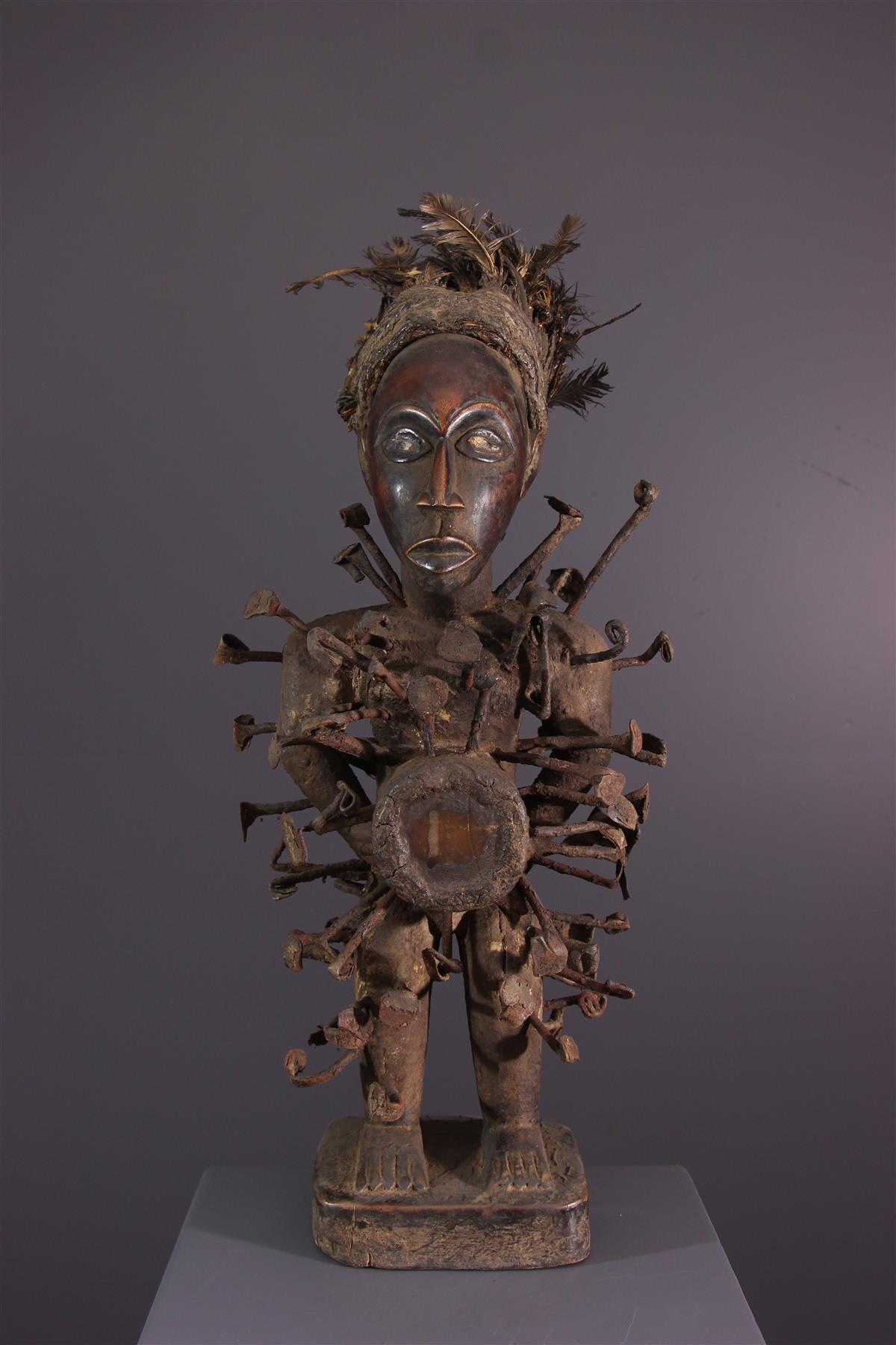 Fétiche Nkondi - Art africain