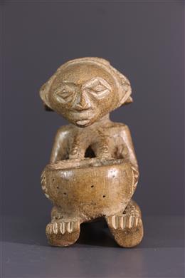 Art africain - Porteuse de coupe Luba Shankadi miniature