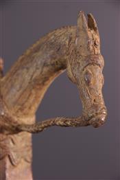 bronze africainCavalier Dogon