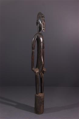 Art africain - Statue pilon Deblé Senoufo