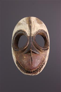 Masque Ibibio Idiok polychrome