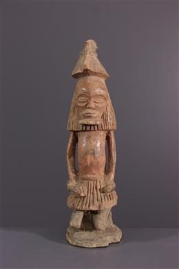 Art africain - Statuette Chokwe Kaponya ca Cihongo wa cipaka