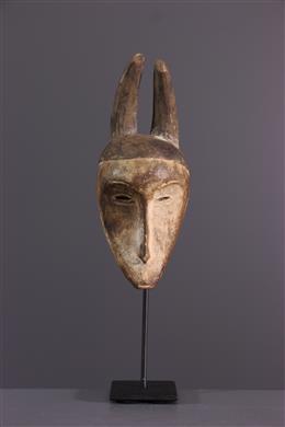 Art africain - Masquette Fang à cornes