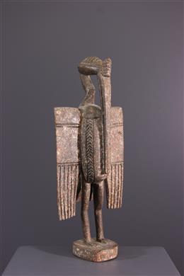 Art africain - Statuette Senoufo Calao