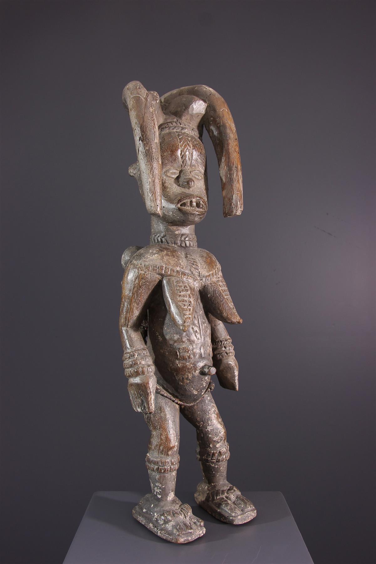 Statue Igbo - Art africain