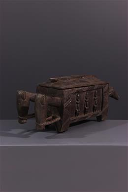 Art africain - Boite figurative Dogon