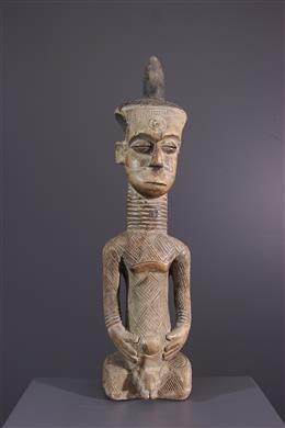 Art africain - Figure dancêtre Dengese Totshi