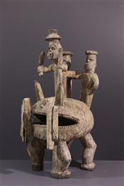 Statue Igala
