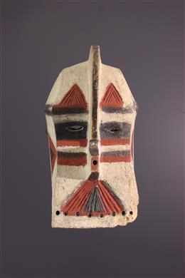 Art africain - Masque Luba Kifwebe