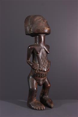 Art africain - Statuette Luba Mikisi