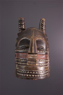 Art africain - Masque Kuba Bushoong Nibita