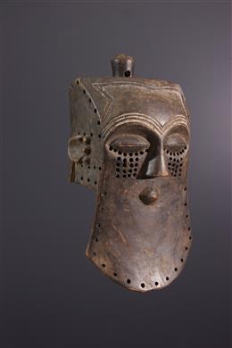 Masque Lele - Art africain