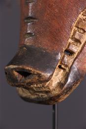 Masque africainMasque Tshokwe