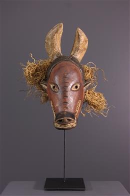 Art africain - Petit masque Chokwe Ngulu