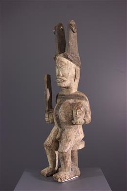 Art africain - Statuette Igbo Ikenga