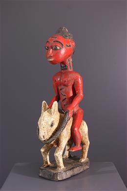 Figure de cavalier Baoule