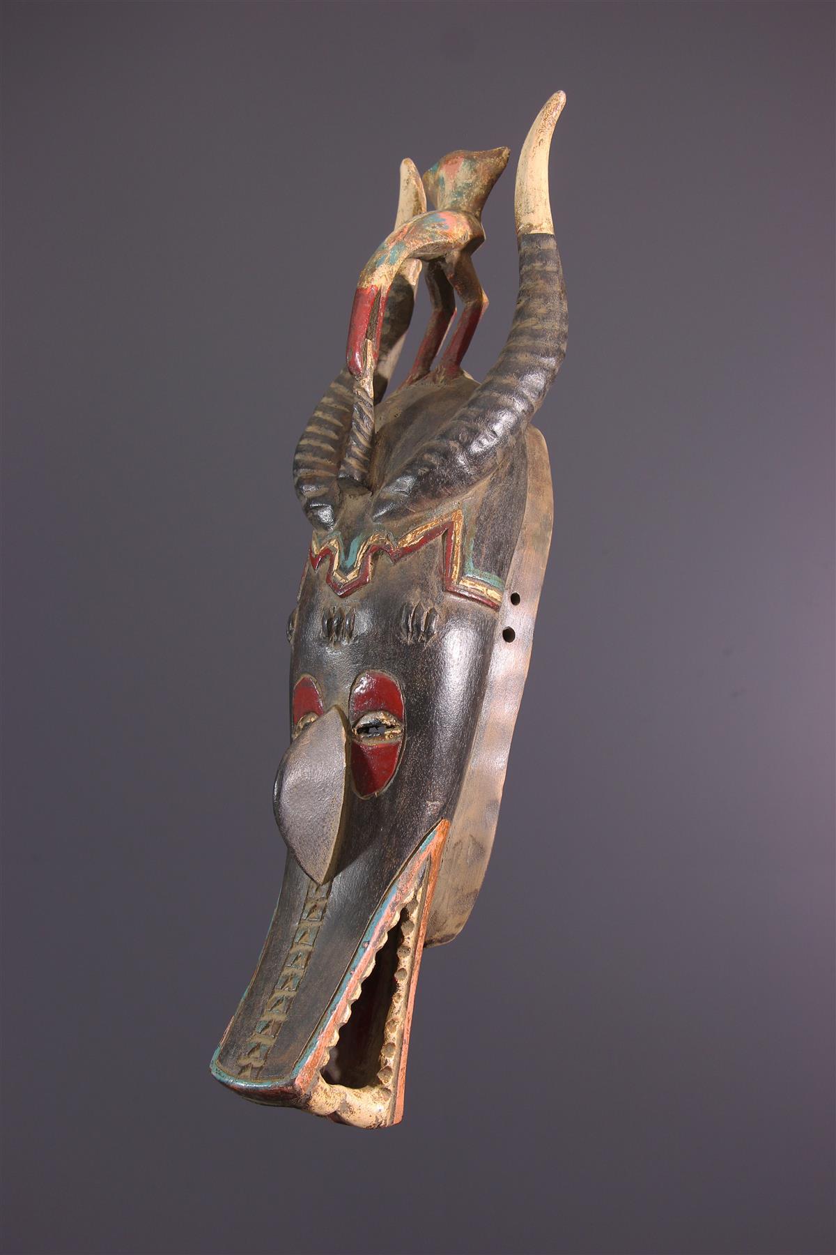 Masque Zamblé - Art africain