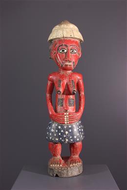 Figure féminine Baoule Waka sona