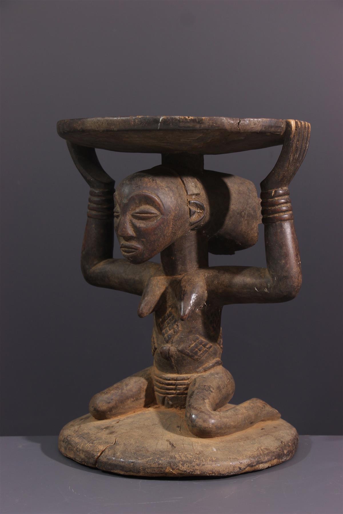 Siège Luba - Art africain