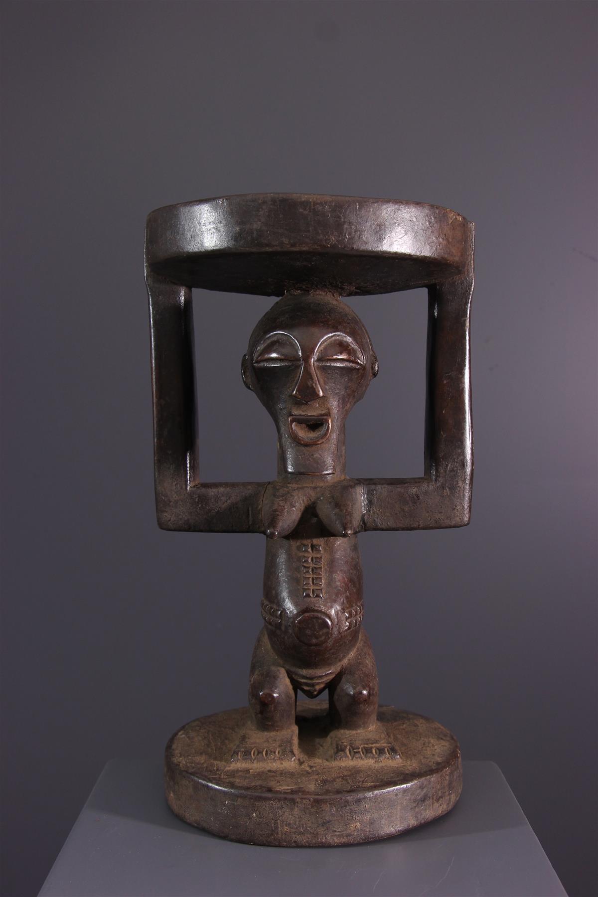 Tabouret Songye - Art africain