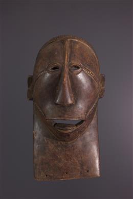 Art africain - Masque facial Tabwa