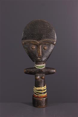 Art africain - Poupée Ashanti Akua ba